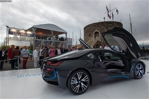 Super Latest Sophisto Gray BMW i8 Luxury Cars Nice Wallpapers