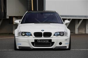 White BMW M3 E46 2012 Car Wallpaper