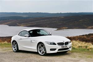White BMW Z4 in 2011 Car