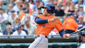 George Springer Famous Baseball Player Wallpaper