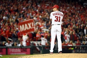 Max Scherzer Baseball Player Wallpaper