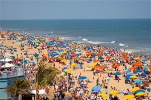 Ocean City United States Tourist Beach Wallpaper