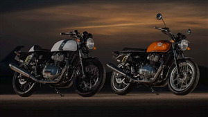 2018 Royal Enfield Interceptor 650 and Continental GT 650 Bike
