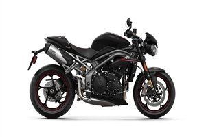 2018 Triumph Speed Triple RS Black Bike