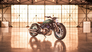 2019 Concept Bike of Royal Enfield KX