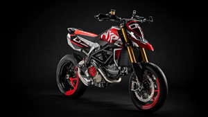 5K Wallpaper of 2019 Ducati Hypermotard 950 Concept Motorcycle