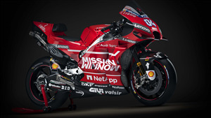 8K Wallpaper of 2019 Ducati Desmosedici GP19 Motogp Race Bike