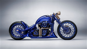 Harley Davidson Diamond Blue Edition Most Expensive 2018 Bike