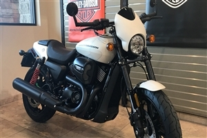 Harley Davidson Street Rod 2018 White Bike