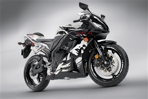Honda CBR Sport Bike Photo Background