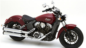 Indian Scout One Sheeter Bike