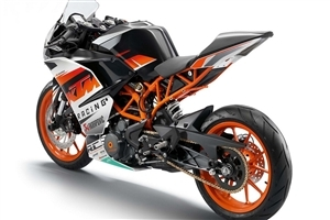 KTM RC 200 Sport Bike HD Wallpaper