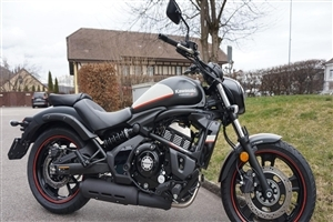Kawasaki Vulcan 650 S Black Bike