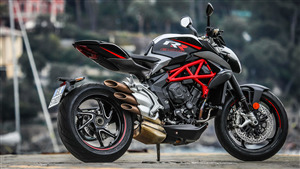 MV Agusta Dragster 800 RR Pirelli 2018 Bike 4K Wallpaper