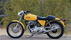New Colorado Norton Works 1975 Commando Bike