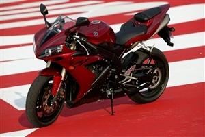 Super Yamaha R1 Red Bike HD Wallpapers
