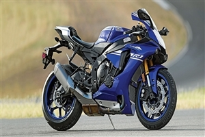 Yamaha YZF R1 Blue Bike