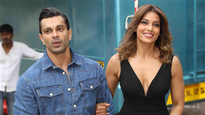 4K Photo of Karan Singh Grover with Her Wife Actress Bipasha Basu