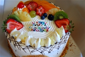 Amazing Beautiful Fruits Birthday Cake Wallpapers
