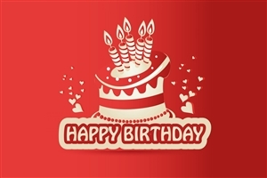 Birthday Red HD Wallpaper