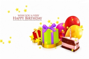 Wish You Happy Birthday Greeting Quote HD Wallpaper