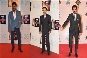 Bollywood Actors in Zee Cine Awards Wallpapers