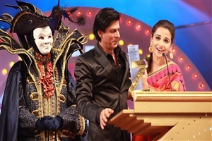 Shahrukh Khan and Vidya Balan in Zee Cine Award Wallpaper