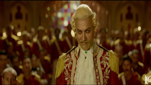 Aamir Khan British Commander Look in Film Thugs of Hindostan