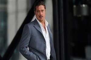 Brad Pitt in Suit Image