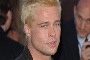 Famous Film Actor Brad Pitt Closeup HD Wallpaper