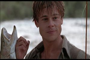 Large River Runs Through Brad Pitt