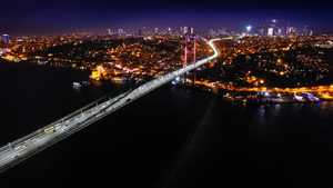 Bosporus Bridge in Turkey Country 4K Wallpaper