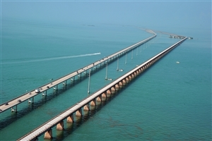 Seven Mile Bridge in Florida United States Country HD Photos for Laptop