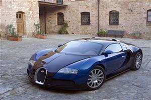 Black Blue Bugatti Veyron Car Wallpapers