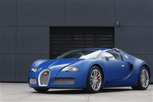 Blue Bugatti Veyron Car Wallpapers