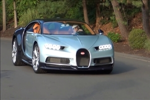 Bugatti Chiron Test Drive Photo