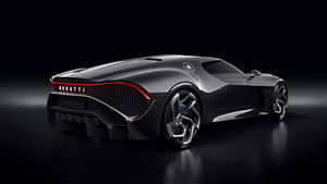 Bugatti La Voiture Noire Expensive Car in World 4K Wallpaper