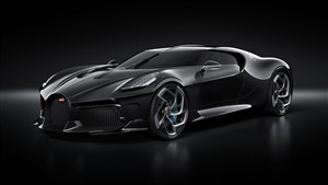 Bugatti La Voiture Noire Most Expensive Car Wallpaper