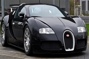 New Black Bugatti Veyron HD Supperb Cars Wallpaper