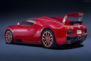 Red Bugatti Veyron Grand Sport Car Wallpapers