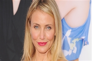 Beautiful Cute Smile of American Actress Cameron Diaz with Pink Lips HD Wallpapers