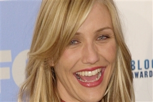 Big Smile of Cameron Diaz Image