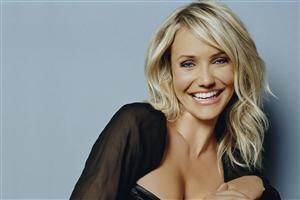 Cute Actress Cameron Diaz in Smile