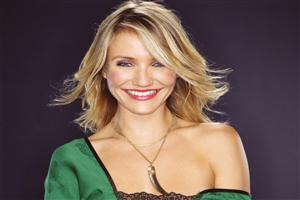Hollywood Actress Cameron Diaz with Cute Smile