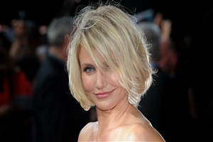 Short Hair Style of Cameron Diaz Photo