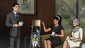 Archer Deadly Prep American Sitcom Wallpaper