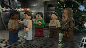 LEGO Star Wars Holiday Special Cartoon Series Pic