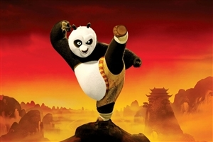 Panda Cartoon HD Photo