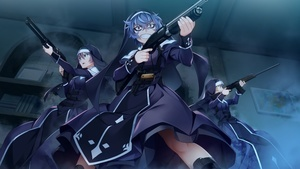 Shotgun Grisaia Phantom Trigger Anime Girls Wallpapers