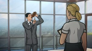 Sterling Archer in Archer TV Show HD Wallpaper